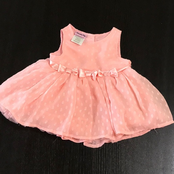 Nauuette Baby Dresses Baby Girl Dress Coral Poshmark